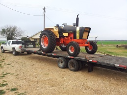 Show Tractor Shipping
